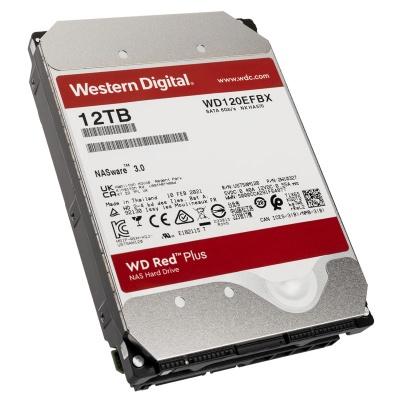 """Western Digital Red Plus, SATA 6G, Intellipower, 3,5"""" - 12 TB - 1"""