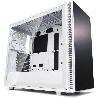 Fractal Design Define S2 Mid-Tower Tempered Glass - White - 1