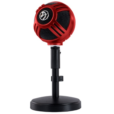 Arozzi Sfera Table Microphone, USB - Red - 1