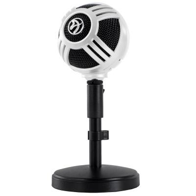 Arozzi Sfera Table Microphone, USB - White - 1