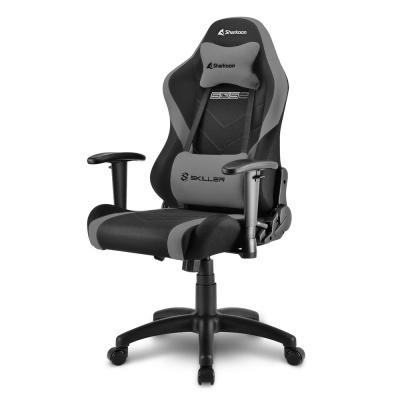 Sharkoon SKILLER SGS2 Jr. Gaming Chair, Black / Grey - 1