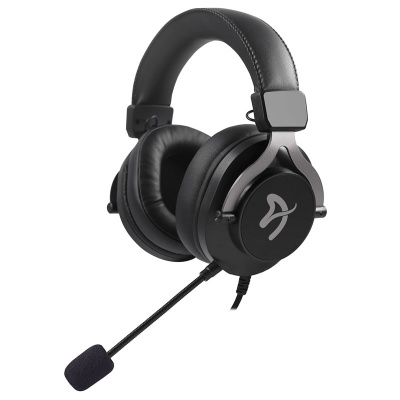 Arozzi Aria Gaming Headset - Black - 1