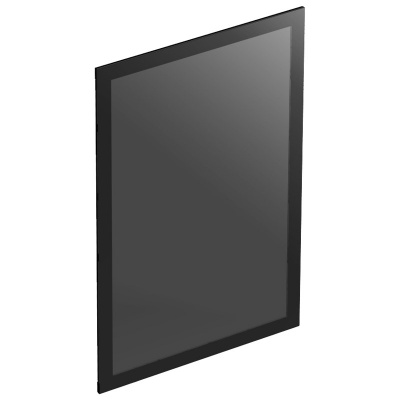 ssupd Meshlicious Tempered Glass Side Panel - Black - 1
