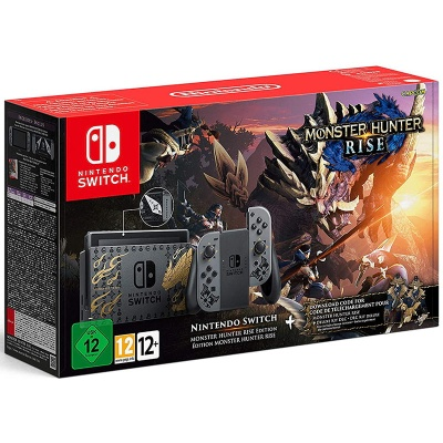 Nintendo Switch Console 1.1 Monster Hunter Rise - Special Edition - 1