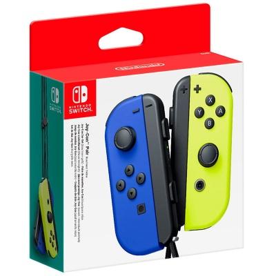 Nintendo Switch Set 2 Joy-Con - Blu / Giallo Neon - 1
