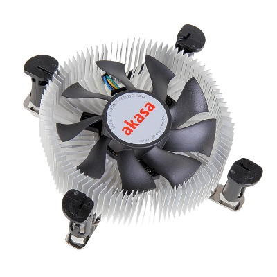 Akasa AK-CCE-7106HP Low Profile Cooling Device For CPU Intel - 74mm - 1