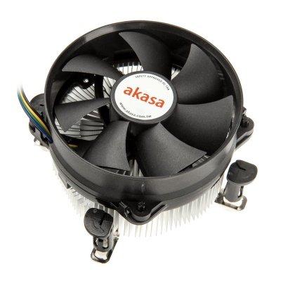 Akasa AK-CCE-7101CP Cooling Device For CPU With Ball Bearings For 775 / 115X - 92m - 1