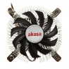 Akasa AK-CC7129BP01 Low Profile Cooling Device For CPU - 74mm - 2
