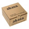 Akasa AK-CC7129BP01 Low Profile Cooling Device For CPU - 74mm - 6