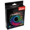 Akasa Vegas X7 LED Fan, RGB - 120mm - 6