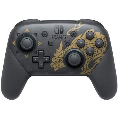Nintendo Switch Pro Controller Edizione Speciale Monster Hunter Rise - 1