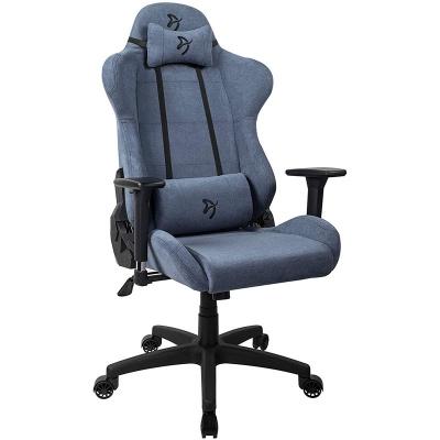 Arozzi Torretta Gaming Chair, Soft Fabric - Blue - 1