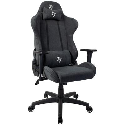 Arozzi Torretta Gaming Chair, Soft Fabric - Dark Grey - 1