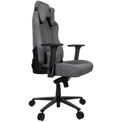 Arozzi Vernazza Gaming Chair, Soft Fabric - Anthracite - 1