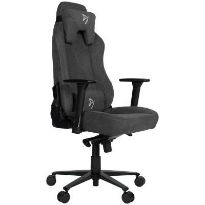 Arozzi Vernazza Gaming Chair, Soft Fabric - Dark Grey - 1
