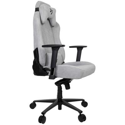 Arozzi Vernazza Gaming Chair, Soft Fabric - Light Grey - 1