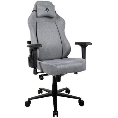 Arozzi Primo Gaming Chair, Woven Fabric - Grey - 1