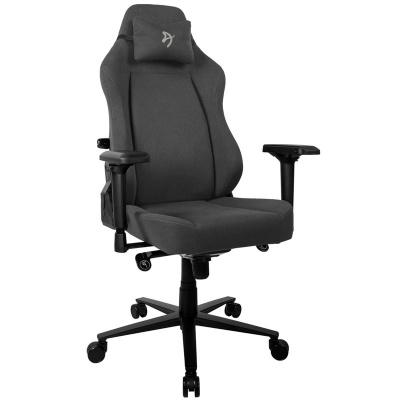 Arozzi Primo Gaming Chair, Woven Fabric - Black / Grey - 1