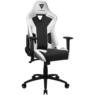 ThunderX3 TC3 Gaming Chair - Completely White - 1