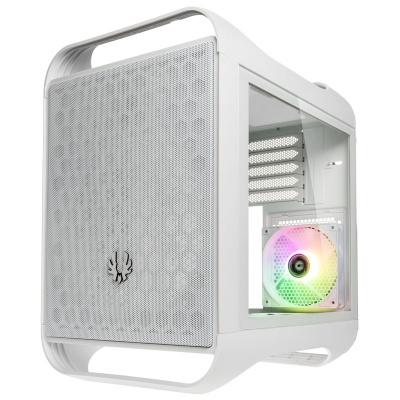 BitFenix Prodigy M 2022 ARGB Micro-ATX, Side Glass, White - 1