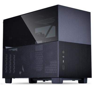 Lian Li Q58X3 Mini-ITX Case, PCIe 3.0 Edition - Black - 1