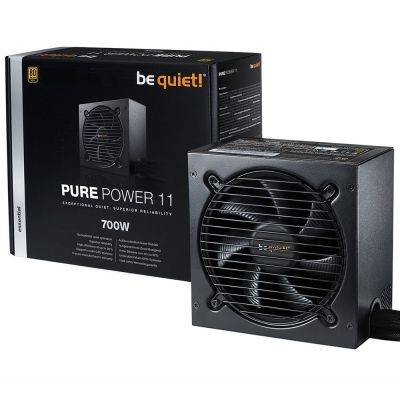 be quiet! Pure Power 11, Power Supply, 80 Plus Gold - 700 Watt - 1