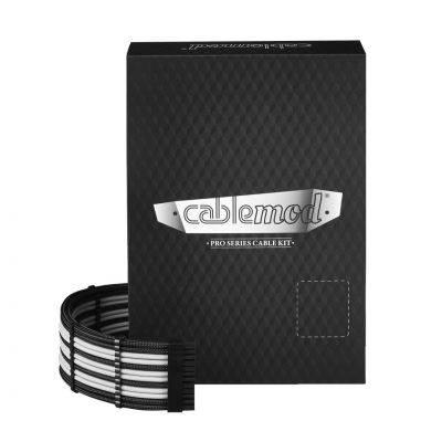 CableMod PRO ModMesh RT-Series ASUS ROG / Seasonic Cable Kits - Black/White - 1