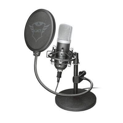 Trust Gaming GXT 252 Emita Streaming USB Table Microphone - Black - 1